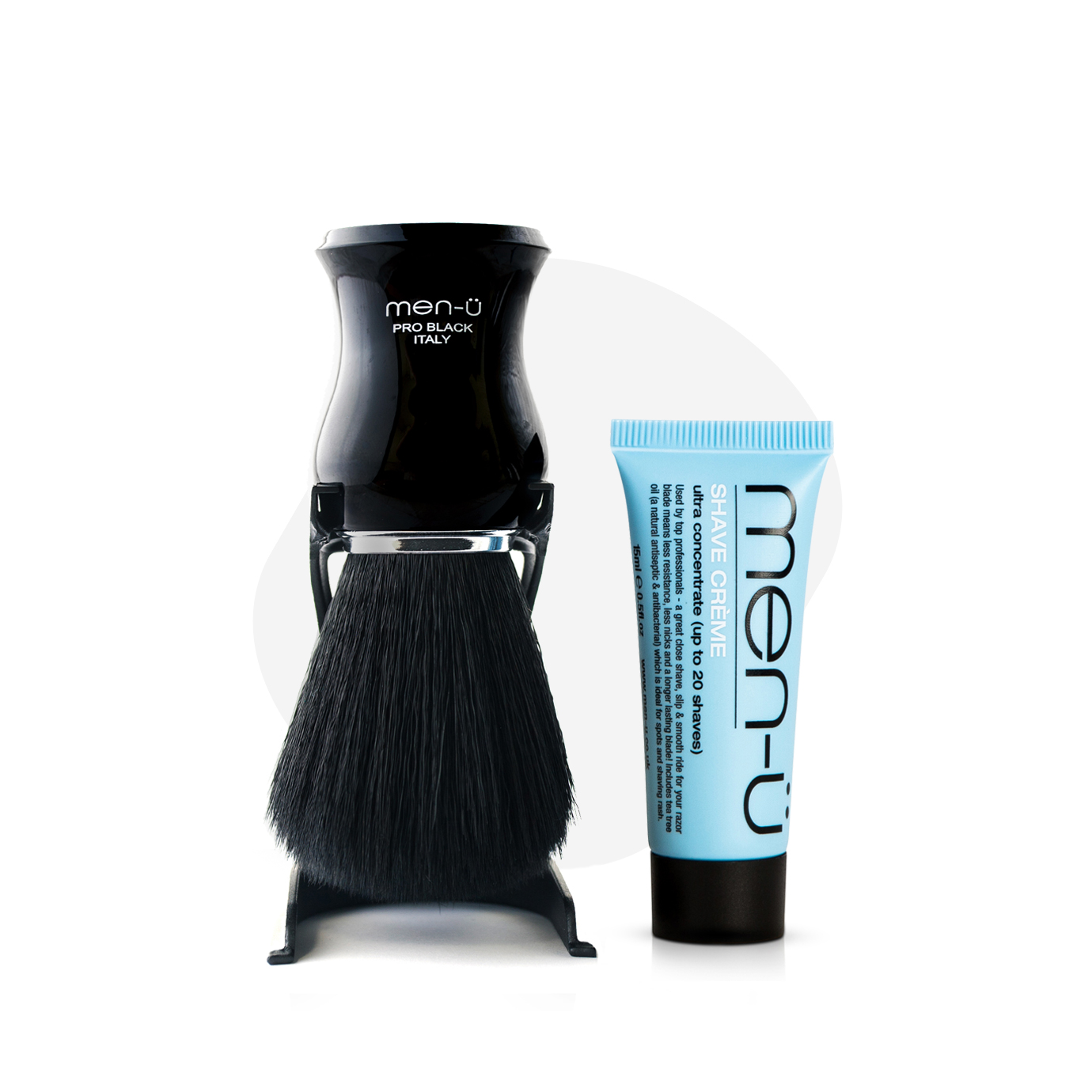 Pro Black Shaving Brush