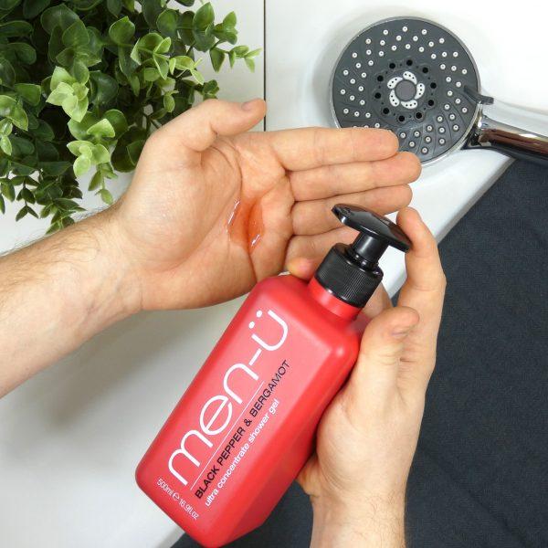 Black Pepper & Bergamot Shower Gel 500ml